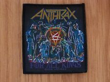 ANTHRAX - FOR ALL KINGS (NEW) SEW ON W-PATCH OFFICIAL BAND MERCH