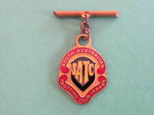 1964 65 SATC South Australia Trotting Club Member Badge