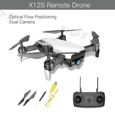 Drone X12S With 1080P HD Dual Camera FPV Foldable Follow Me 2.4G Quadcopter Toys