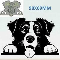 Dog Metal Cutting Dies Cutting Stencil DIY Scrapbooking Card Paper Art F4O3