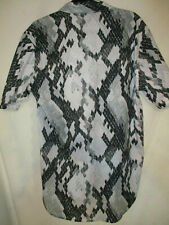 just cavalli shirt,snakeskin pat,new with tags