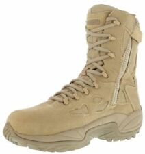 "Reebok Men/Women's Rapid Response 8"" Composite Toe Combat/Tactical Boots RB8894"