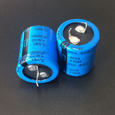 3pcs 10000uF 25V CDE 380LX 25X30mm High quality capacitors