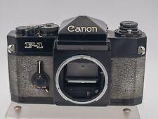 Canon F-1 F1 35mm Film Pro FD Lens Mount SLR Camera Body Only - 11/1972