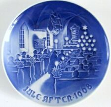 Bing & Grondahl 1968 And 1969 Christmas Plates - Two Plates, One Price!