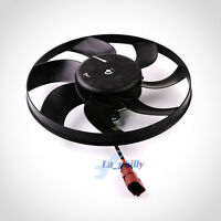Radiator Cooling Fan Assembly For VW Rabbit Jetta Golf GTI MK5 MK6 Passat B6