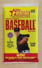 2012 Topps Heritage Minor League HOBBY Pack Manny Machado? Joc Pederson Auto?