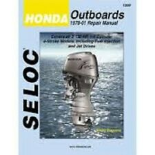New Seloc Honda Outboard Motor Engine Repair Manual Sec 1200