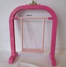 Lego Belville 6199 - 6200 Swing Balançoire Pink Rose du 5870 2555 6547 ou MOC