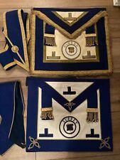Craft Provincial Dress & Undress Aprons & Collars Registrar Surrey-Masonic