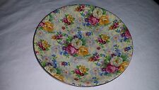 """Lord Nelson Rose Time Saucer Plate 5 7/8"""" Center 2"""""""