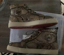 louboutin mens sneakers Size 44 Half