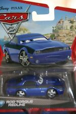 "DISNEY PIXAR CARS 2 ""ROD TORQUE REDLINE"" IMPERFECT  PACKAGE, SHIP WORLDWIDE"