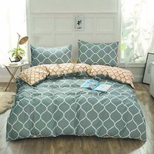 Doona Duvet Quilt Cover Pillowcase Set Double Queen King Size Netting