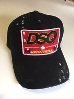 2017 New Dsquared Distressed Brothers  Dsquared2 Baseball Cap - UK Seller