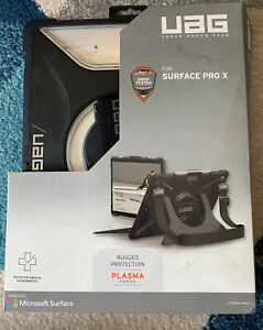 UAG Urban Armor Gear Plasma Series For Surface Pro X. Clear and Black Open Box