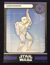 Star Wars Miniatures Sandtrooper Stat Card ONLY SWM Mini