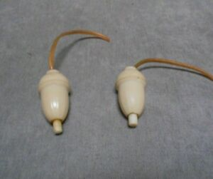 Pair French Handle Pull LIGHT Switches