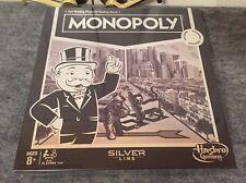 Hasbro TRU Toys R Us Exclusive Monopoly Silver Line Edition NIB