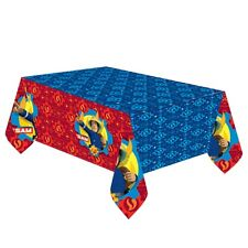 Fireman Sam Tablecover Party Plastic Tablecloth Fireman Sam Party Supplies