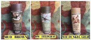 Lot de 3 Bombes spray peinture - Casque US 1944