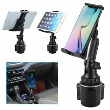 Adjustable Car Cup Phone Holder Stand Mount Cradle For iPhone 11 Samsung S9 iPad