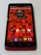 New listing Motorola Droid Ultra, Xt1080,16Gb, Red,Unlocked,Shadow,Fair Condition : Aa951