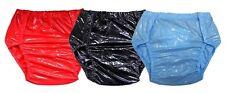 PVC Schwedenhose Windelhose zum Knöpfen PVC Lackoptik Knöpfer Adult Baby fetisch