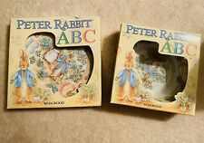 Wedgwood Peter Rabbit Abc bowl and plate set.New In Box
