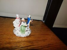 Wise Men Candle Holder Japan Commodore Vintage