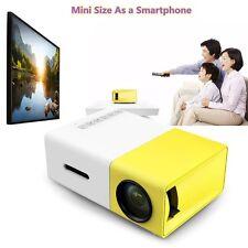 Mini Portable LED 1080P Projector LCD Home Theater Multimedia Pocket Cinema HDMI