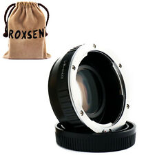 Focal Reducer Speed Booster Adapter Leica R mount lens to Micro 4/3 GF7 M43 E-P5