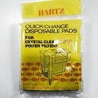 Hertz Aquarium Filter Pads Crystal Clean II  III Power Filters, Disposable Pad