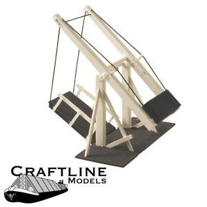 WOODEN CANAL LIFT BRIDGE MODEL KIT  00  CRAFTLINE CAK1