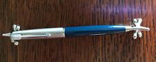 Vintage Parker Jewel Top ? Blue And Silver Mechanical Pencil