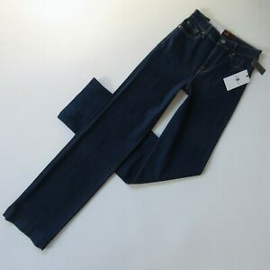 NWT 7 For All Mankind Alexa in Avant Rinse Wide Leg Stretch Trouser Jeans 25