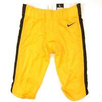 New Nike Custom Vapor Football Varsity Game Pant Men's Large 908713 Yellow