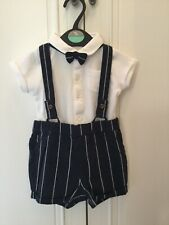Next Baby Boy Smart Traditional Outfit Set Size 6-9 Months