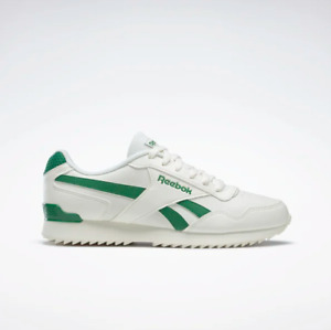 Reebok Royal Glide Ripple Clip Men's Shoes Chalk/Green FW7887 UK 8 to 12