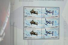 China prc 2014-27 bpc-9 aire y espacio 4635-36 marcas cuaderno post frescos mnh
