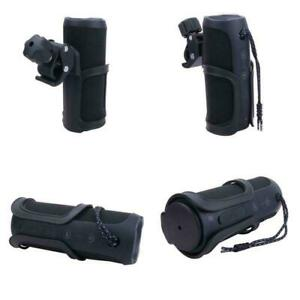 Bike Mount Holder With Clamp For JBL Flip 4/3 Bluetooth Speaker By Aenllosi