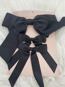 BNWT Simone Rocha x H&M 3-pack Bow Hair Clips