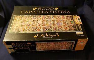 "Educa ""Cappella Sistina"" 8000 Piece Jigsaw Puzzle (272 x 96cm!) 3ft x 9ft"
