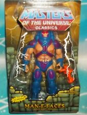 MASTERS OF THE UNIVERSE MOTU CLASSICS MAN-E-FACES COLLECTOR FIGURE MATTEL