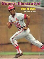 1974 7/22 Sports Illustrated baseball magazine Lou Brock St. Louis Cardinals GLR