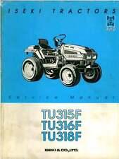 Iseki Tractor TU315F TU316F TU318F Service Manual