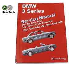 BMW E30 318i 318iC 325 325e 325es 325i 325is 325iC M3 Repair Manual Bentley NEW