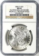 1883-O $1 Morgan Dollar NGC MS65 Olathe Dollar Hoard