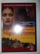 NIGHT OF HENNA DVD Pakistani American romcom FACTORY SEALED NEW 2005 Illuminare