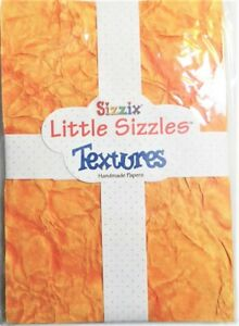 Sizzix Little Sizzles Textures Handmade Paper, 40-0020